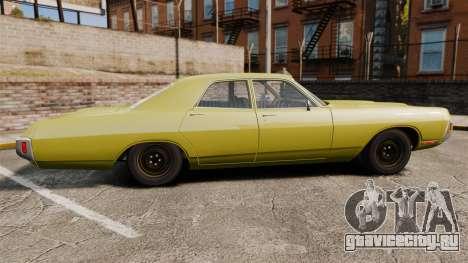 Dodge Polara 1971 для GTA 4 вид слева