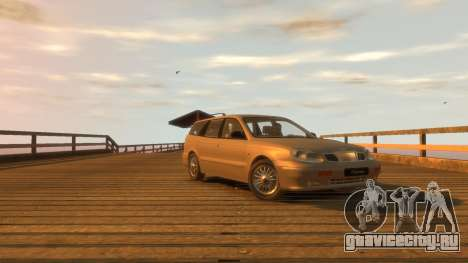 Daewoo Leganza Wagon для GTA 4 вид справа