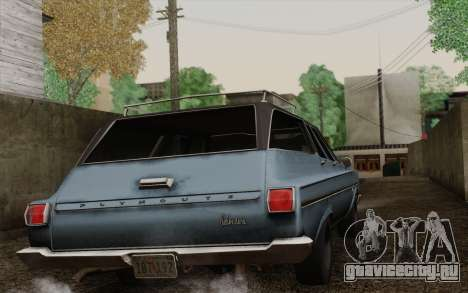 Plymouth Belvedere Station Wagon 1965 для GTA San Andreas вид слева