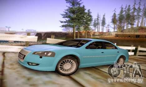 Volga Siber 2.5 AT Restyling для GTA San Andreas вид слева