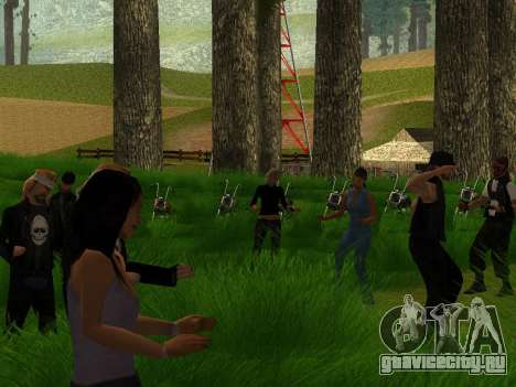 Biker Party 1.0 для GTA San Andreas