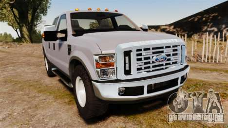 Ford F-250 Super Duty Police Unmarked [ELS] для GTA 4