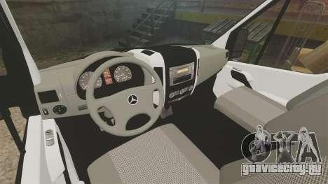 Mercedes-Benz Sprinter 211 CDI Police [ELS] для GTA 4 вид сзади