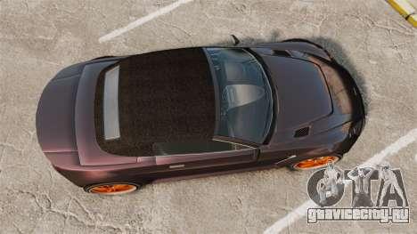 GTA V Dewbauchee Rapid GT для GTA 4 вид справа