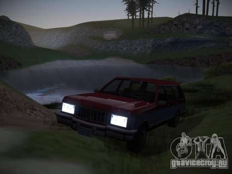 ENBSeries by Pablo Rosetti для GTA San Andreas третий скриншот