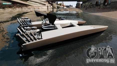 Dragboat Twin V8 для GTA 4 вид слева