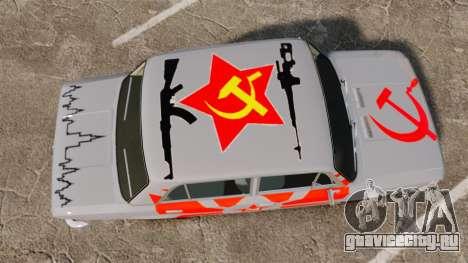 ВАЗ-2101 Жигули USSR для GTA 4 вид справа