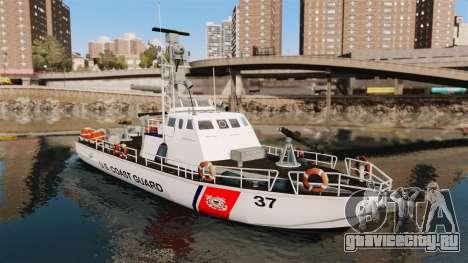 Канонерская лодка U.S. Coastguard для GTA 4