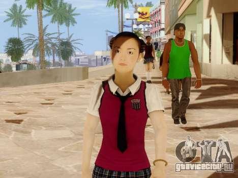 Hanako для GTA San Andreas второй скриншот