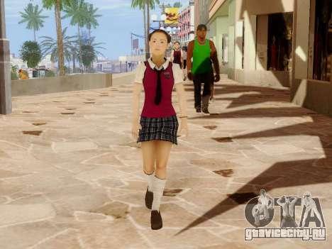Hanako для GTA San Andreas девятый скриншот