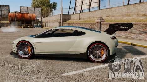GTA V Dinka Jester для GTA 4 вид слева