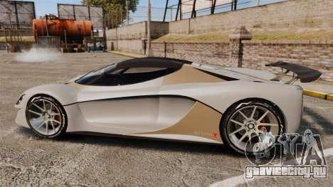 GTA V Grotti Turismo R для GTA 4 вид слева