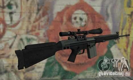 Снайперская Винтовка из L4D для GTA San Andreas второй скриншот