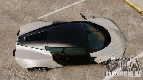 Marussia B2 для GTA 4 вид справа