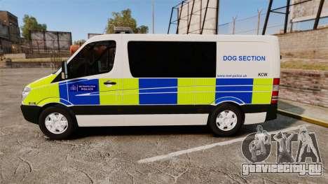 Mercedes-Benz Sprinter 211 CDI Police [ELS] для GTA 4 вид слева