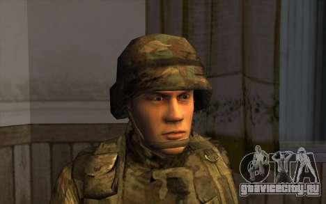 Солдаты СА и Национальной гвардии США для GTA San Andreas третий скриншот