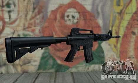 M4 RIS Carbine для GTA San Andreas второй скриншот