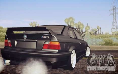 BMW M3 E36 Angle Killer для GTA San Andreas вид слева