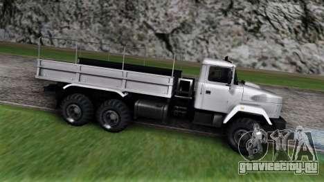 КрАЗ 6322 для GTA San Andreas вид слева