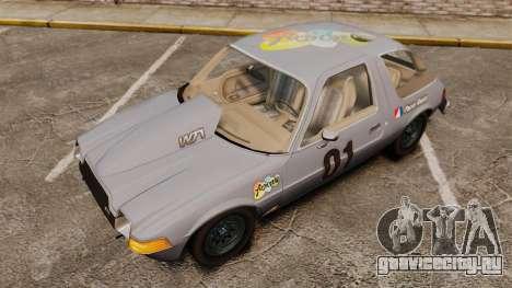 AMC Pacer для GTA 4 вид сбоку