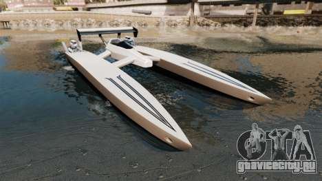 Dragboat Twin V8 для GTA 4