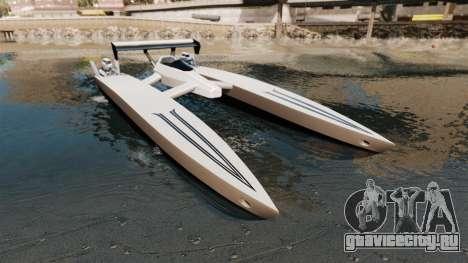 Dragboat Twin V8 для GTA 4