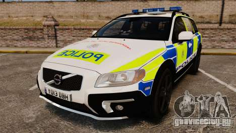 Volvo XC70 2014 Police [ELS] для GTA 4