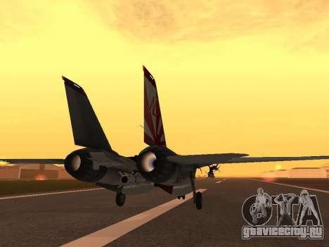 F-14 LQ для GTA San Andreas вид справа