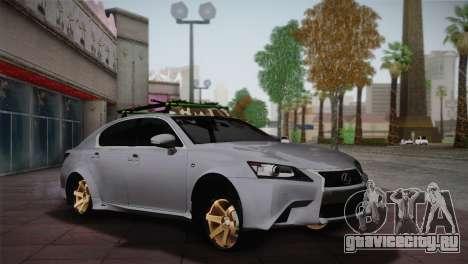 Lexus GS250 F для GTA San Andreas