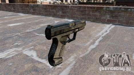 Самозарядный пистолет Walther P99 для GTA 4 второй скриншот