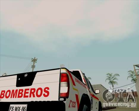 Nissan Terrano для GTA San Andreas вид сверху