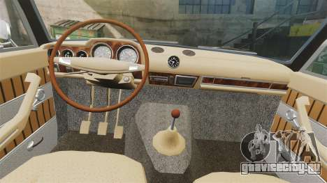 ВАЗ-2103 Жигули для GTA 4 вид изнутри