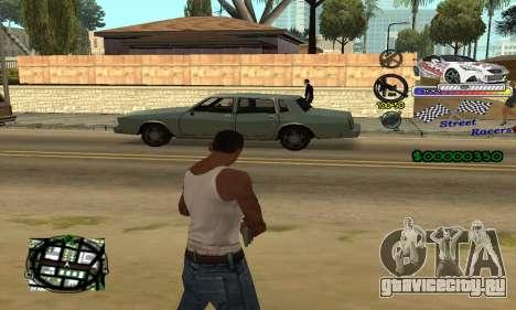 HUD Races для GTA San Andreas второй скриншот