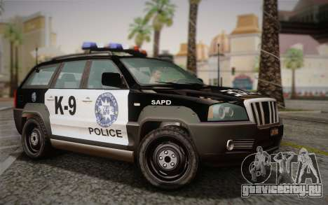 NFS Suv Rhino Light - Police car 2004 для GTA San Andreas