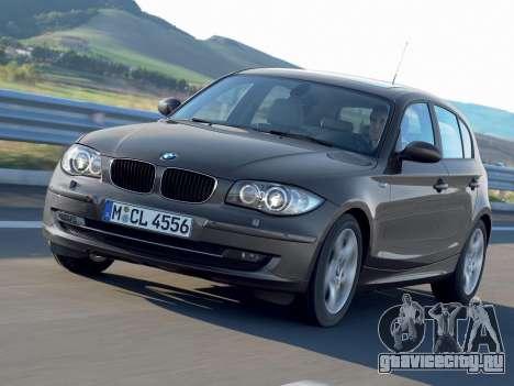 Загрузочные экраны BMW 116i для GTA 4 пятый скриншот