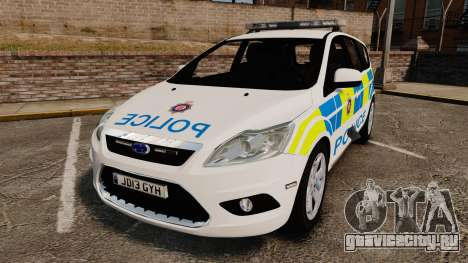 Ford Focus Estate British Police [ELS] для GTA 4