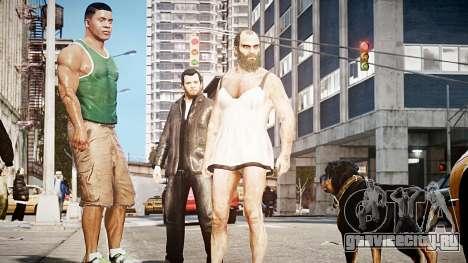 Клинтон Франклин GTA V для GTA 4 третий скриншот
