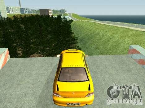 Mitsubishi Lancer  Evolution для GTA San Andreas вид справа