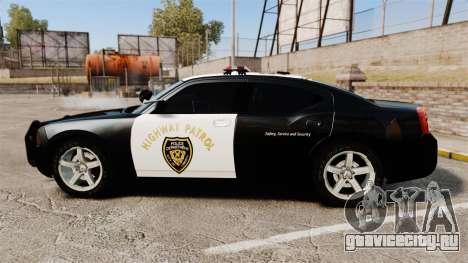 Dodge Charger 2010 LCHP [ELS] для GTA 4 вид слева
