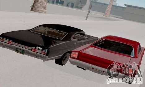 Plymouth Road Runner 383 1969 для GTA San Andreas вид сверху