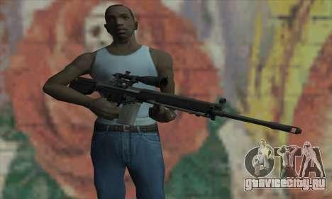 Снайперская Винтовка из L4D для GTA San Andreas третий скриншот