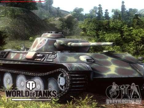 Загрузочный экран World of Tanks для GTA San Andreas четвёртый скриншот