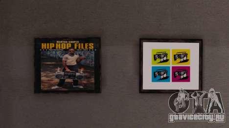 Новые постеры в квартире Плейбоя для GTA 4 пятый скриншот