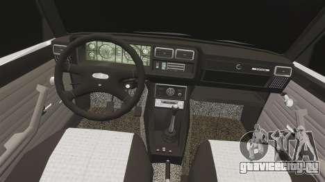 ВАЗ-2107 Жигули для GTA 4 вид сбоку