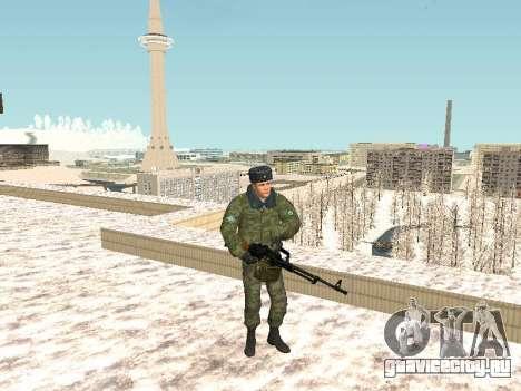Пак русского стрелкового оружия для GTA San Andreas четвёртый скриншот