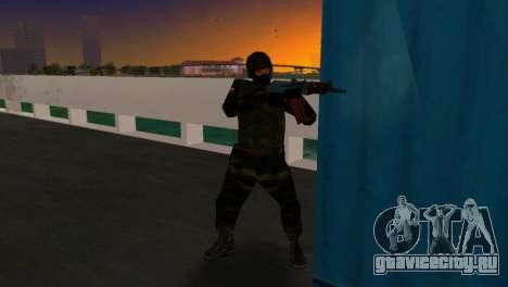 Боец Альфа Антитеррор для GTA Vice City