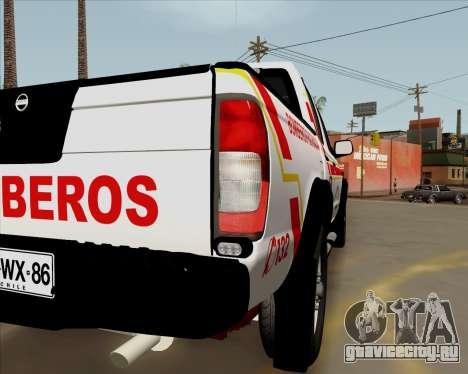 Nissan Terrano для GTA San Andreas вид слева