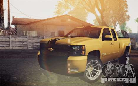 Chevrolet Silverado 2500 LTZ для GTA San Andreas