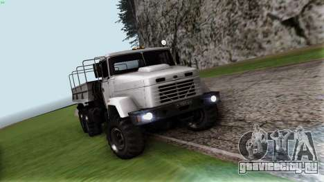 КрАЗ 6322 для GTA San Andreas вид сзади