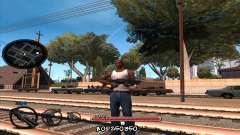 C-HUD by Jayson Wallace для GTA San Andreas